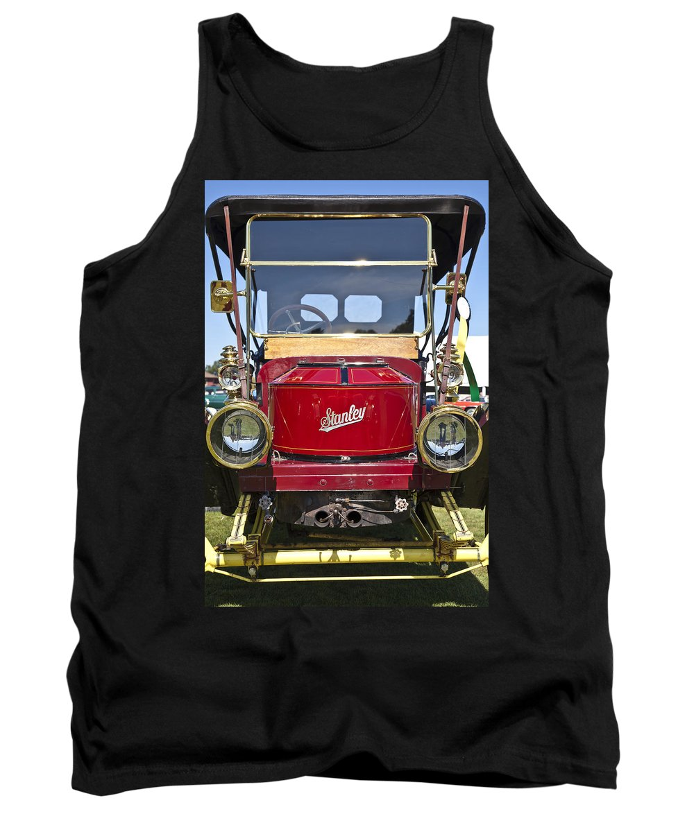 1910 Tank Top featuring the photograph 1910 Stanley Model 70 by Jack R Perry