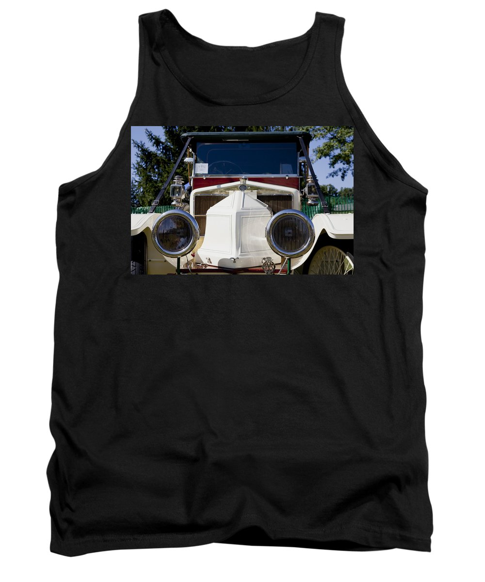 1912 Tank Top featuring the photograph 1912 Siddeley-deasy Type 14-20 by Jack R Perry