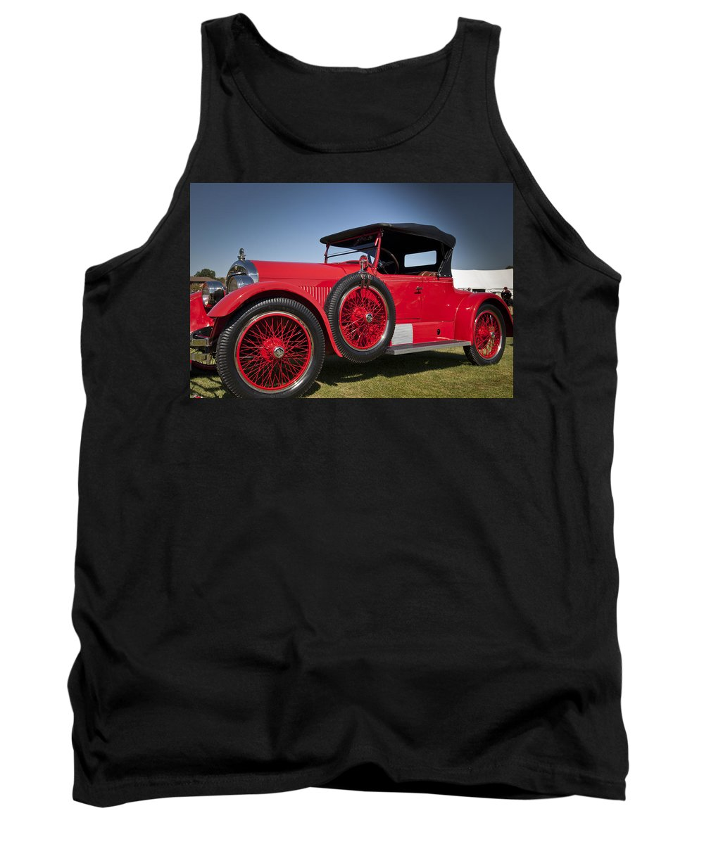 1925 Tank Top featuring the photograph 1925 Stutz Model 693 by Jack R Perry