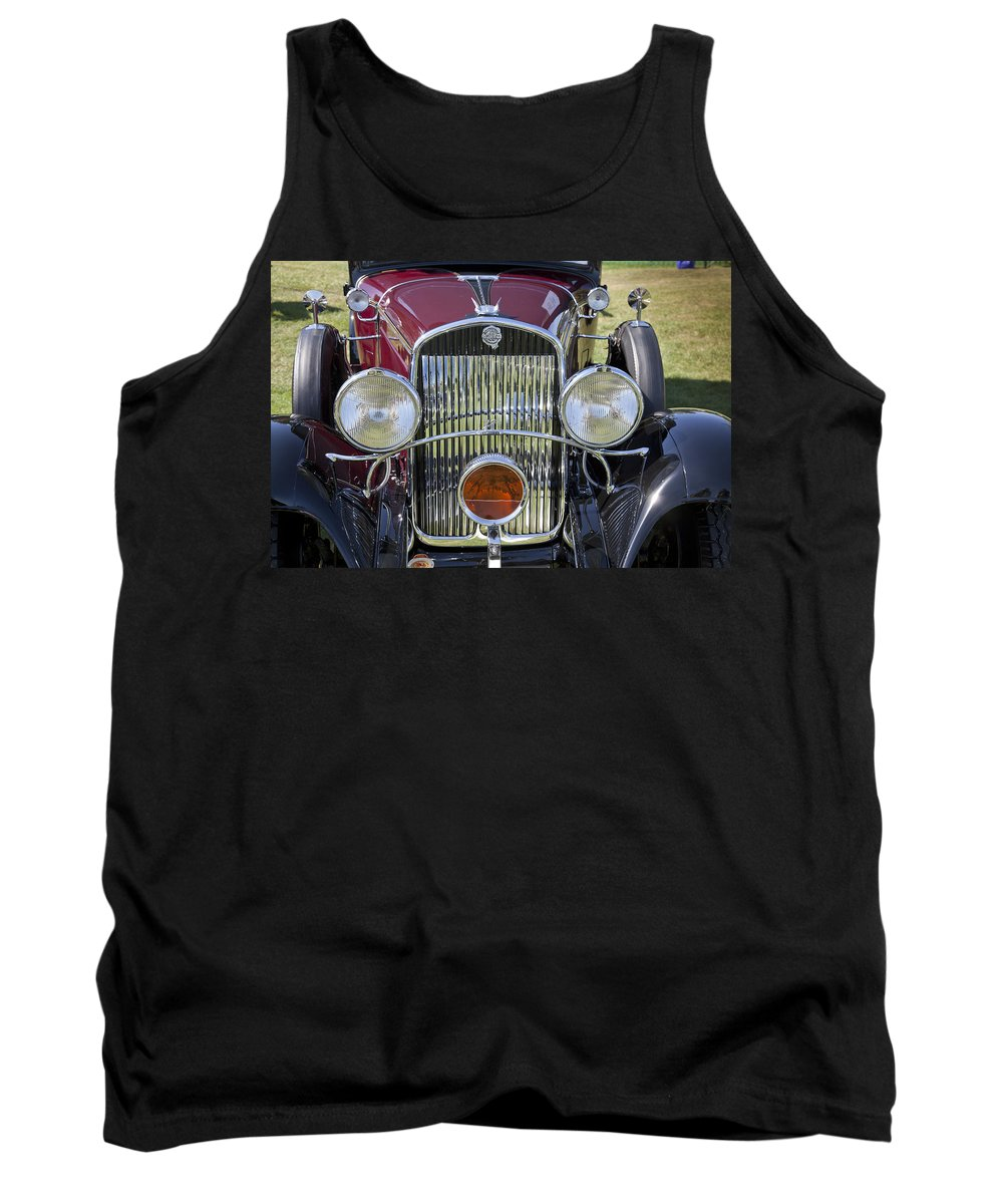1930 Tank Top featuring the photograph 1930 Chrysler Model 77 by Jack R Perry