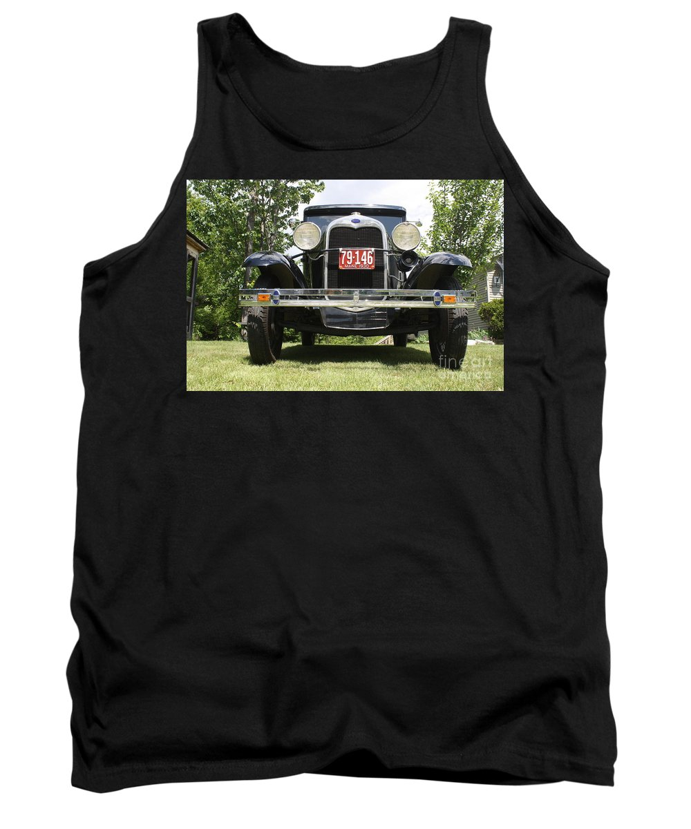 1930 Ford Model-a Tank Top featuring the photograph 1930 Model-a Tudor 3 by Joseph Marquis
