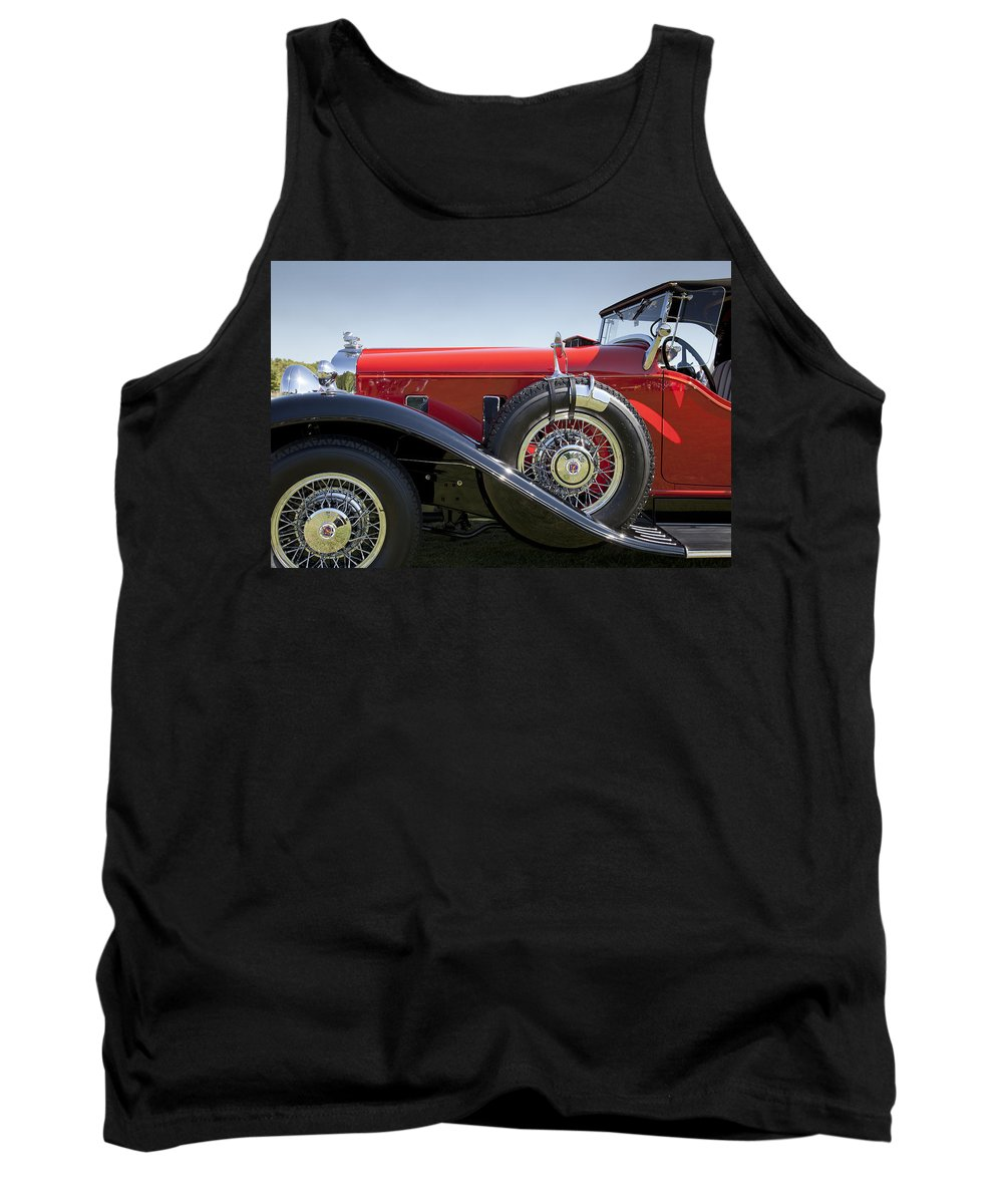 1932 Tank Top featuring the photograph 1932 Stutz Bearcat Dv32 by Jack R Perry