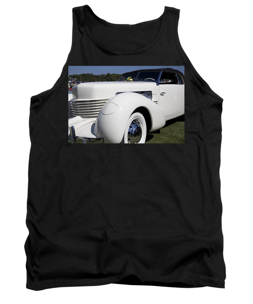 1937 Tank Top featuring the photograph 1937 Cord Model 812 Phaeton by Jack R Perry