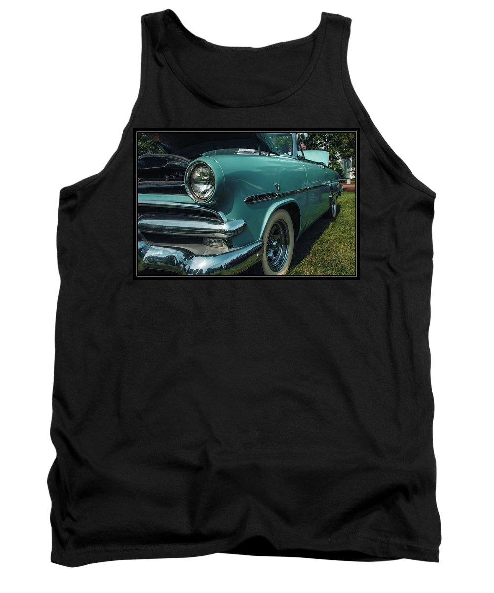 Ford Tank Top featuring the photograph 1953 Ford Crestline by Sherman Perry