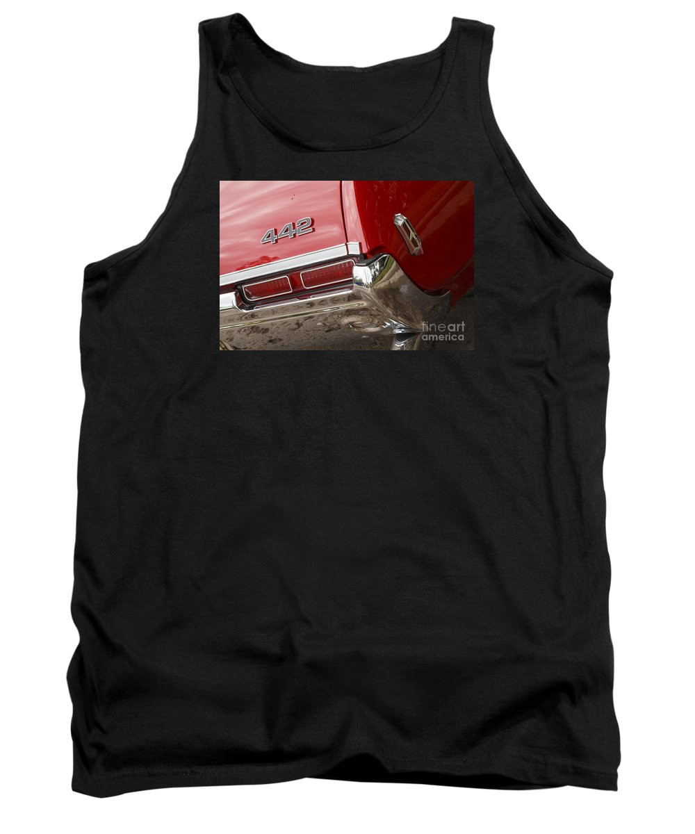 1968 Tank Top featuring the photograph 1968 Oldsmobile 442 by Dennis Hedberg