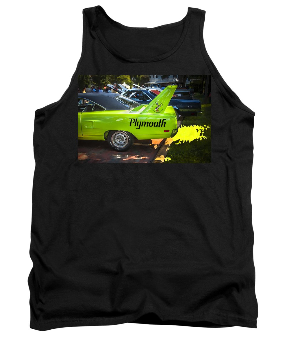1970 Plymouth Tank Top featuring the photograph 1970 Plymouth Road Runner Hemi Super Bird by Rich Franco