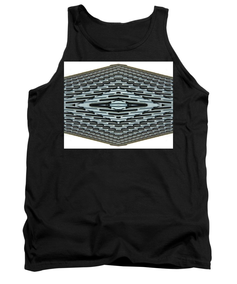 Original Tank Top featuring the photograph Abstract Buildings 2 by J D Owen