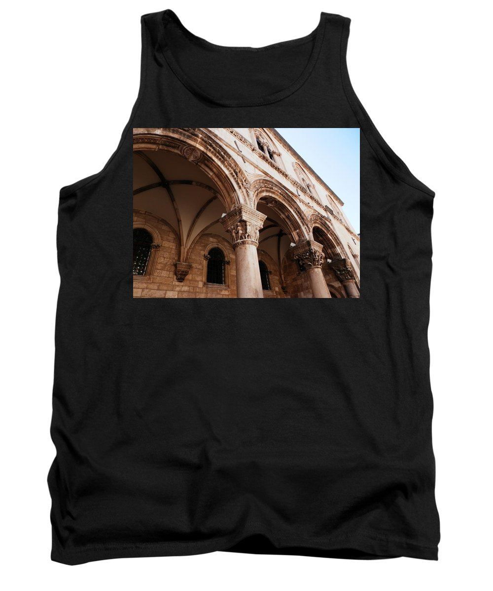 Arches Tank Top featuring the photograph Arches by Pema Hou