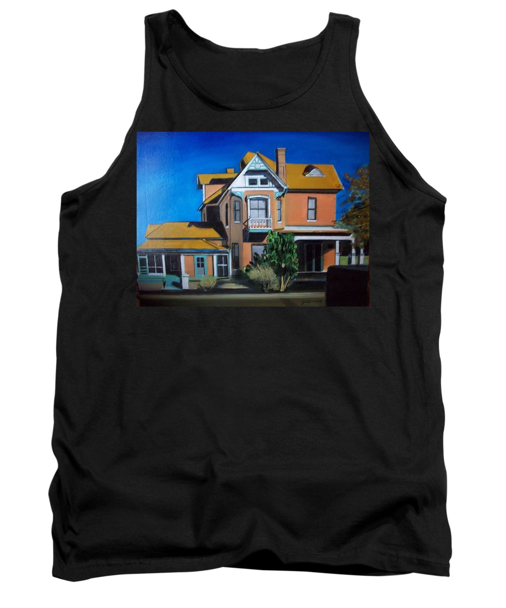 Tank Top featuring the painting Dwelling by Jude Darrien