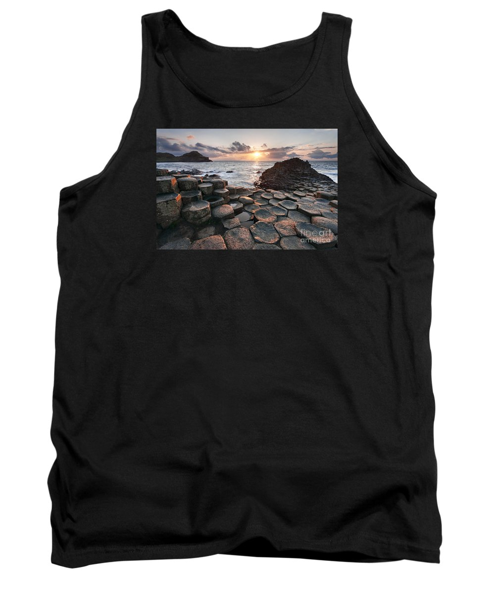Giant's Causeway Tank Top featuring the photograph Giant's Causeway 2 by Rod McLean