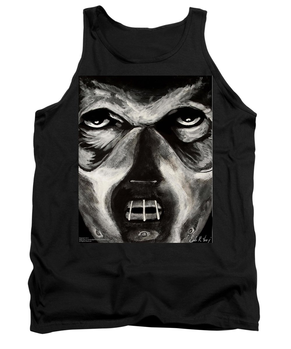 Hannibal Tank Top featuring the painting Hannibal by Dale Loos Jr