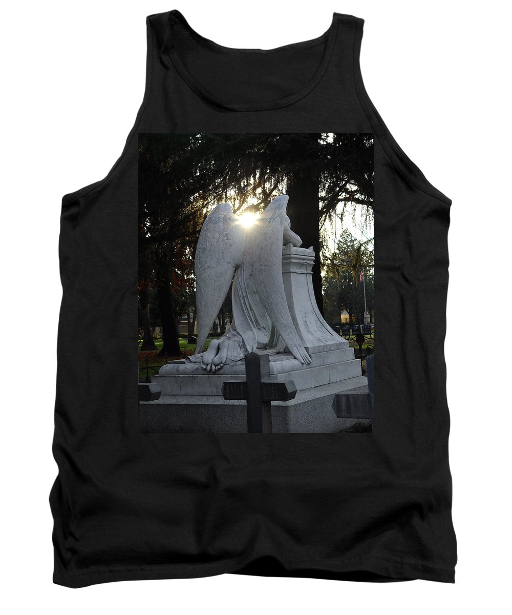 Guardian Tank Top featuring the photograph In The Shadow Of His Light by Peter Piatt