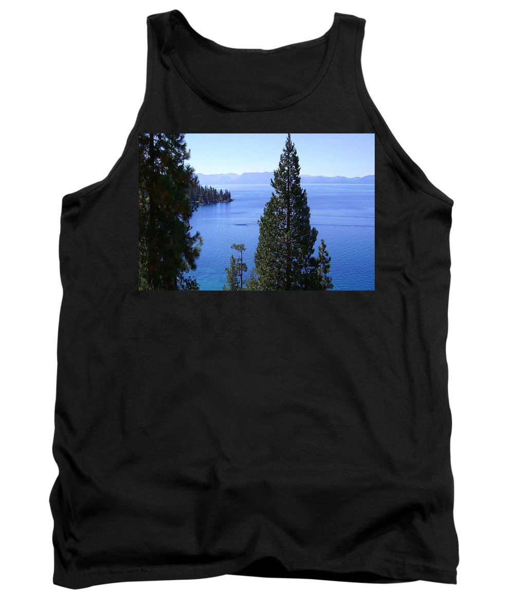 California Tank Top featuring the photograph Lake Tahoe 4 by J D Owen