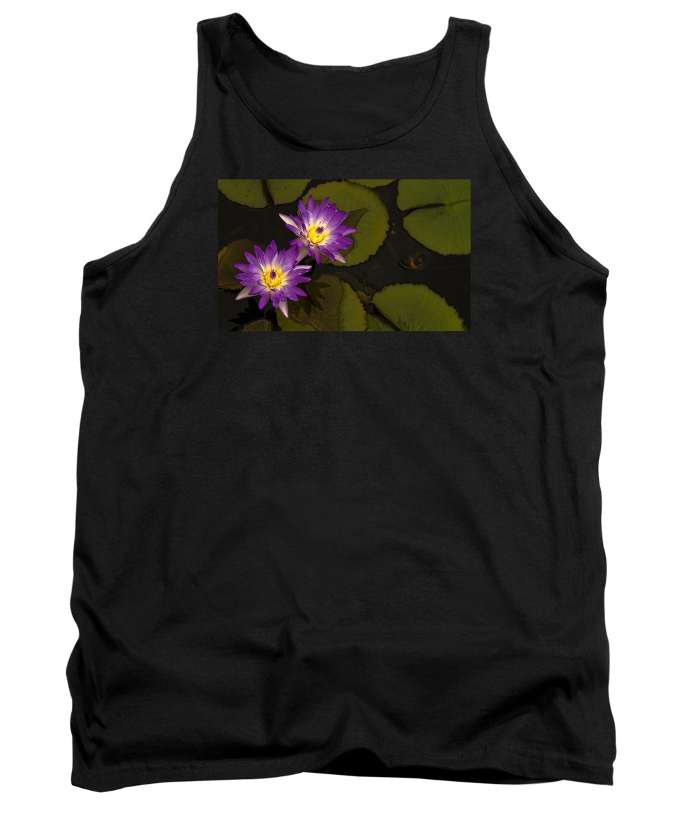Flower Tank Top featuring the photograph Lotus by Qi Gao
