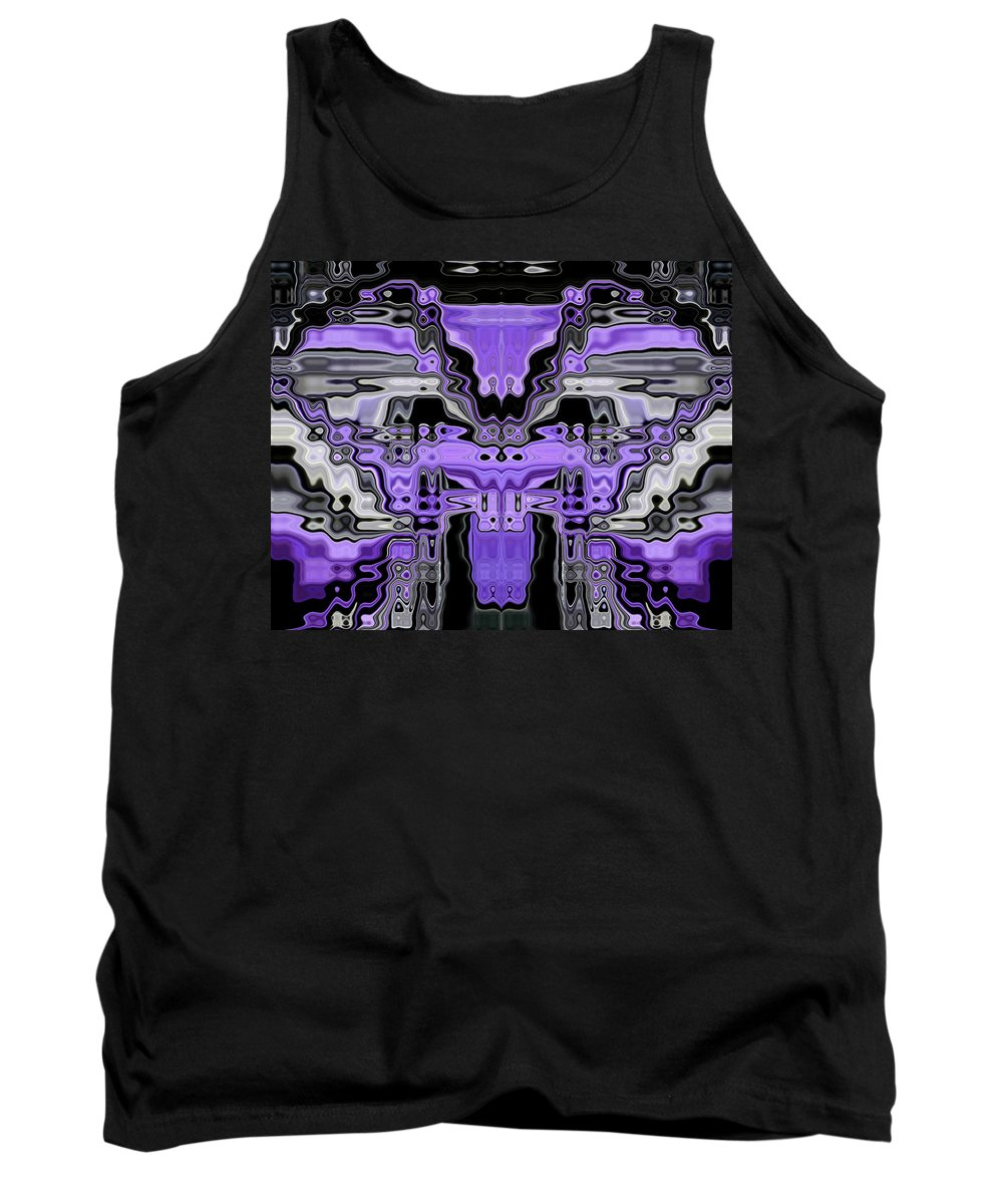 Original Tank Top featuring the painting Motility Series 13 by J D Owen