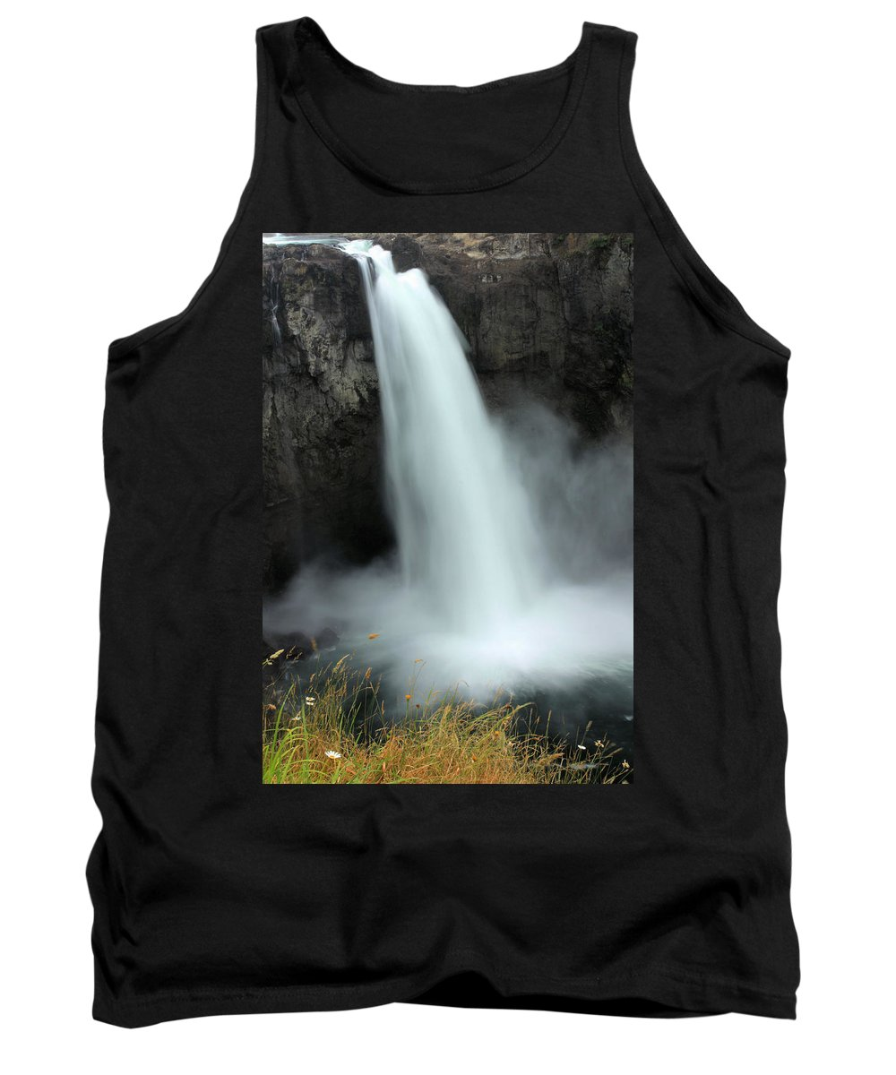 Snoqualmie Falls Tank Top featuring the photograph Snoqualmie Falls by Kristin Elmquist