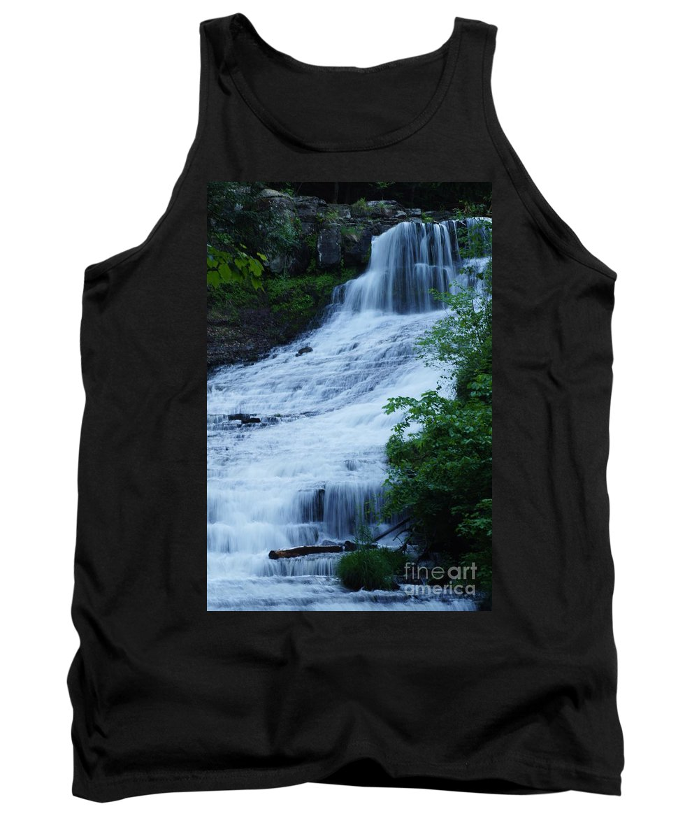 Waterfalls Tank Top featuring the photograph The Falls by Jeffery L Bowers