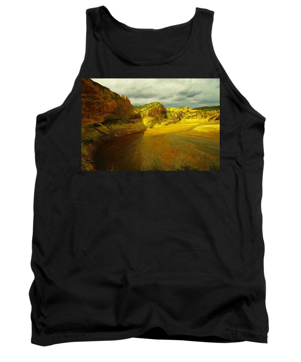 Water Tank Top featuring the photograph Utah Landscape by Jeff Swan