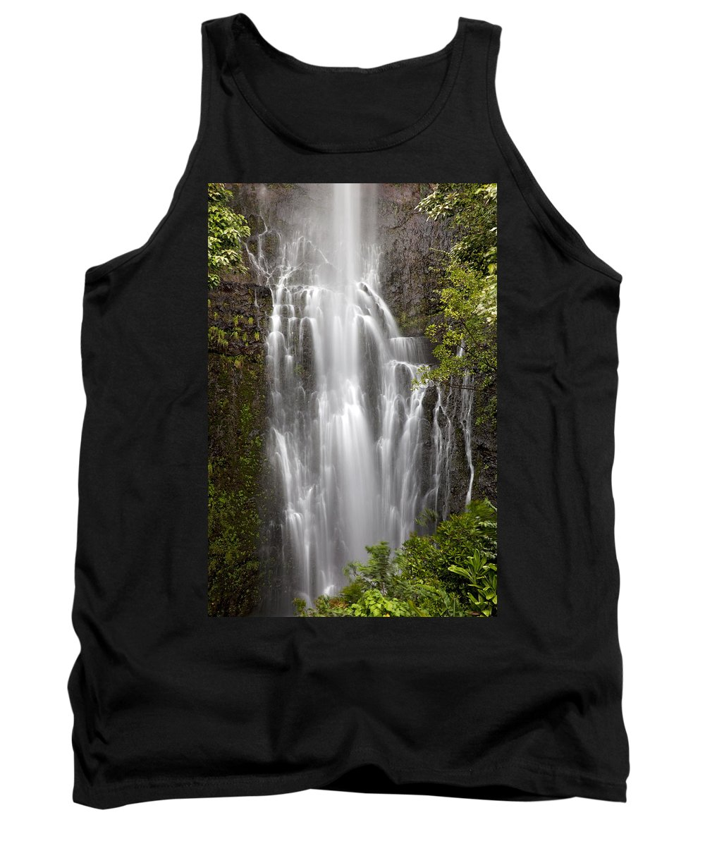 Amazing Tank Top featuring the photograph Wailua Falls II by Jenna Szerlag
