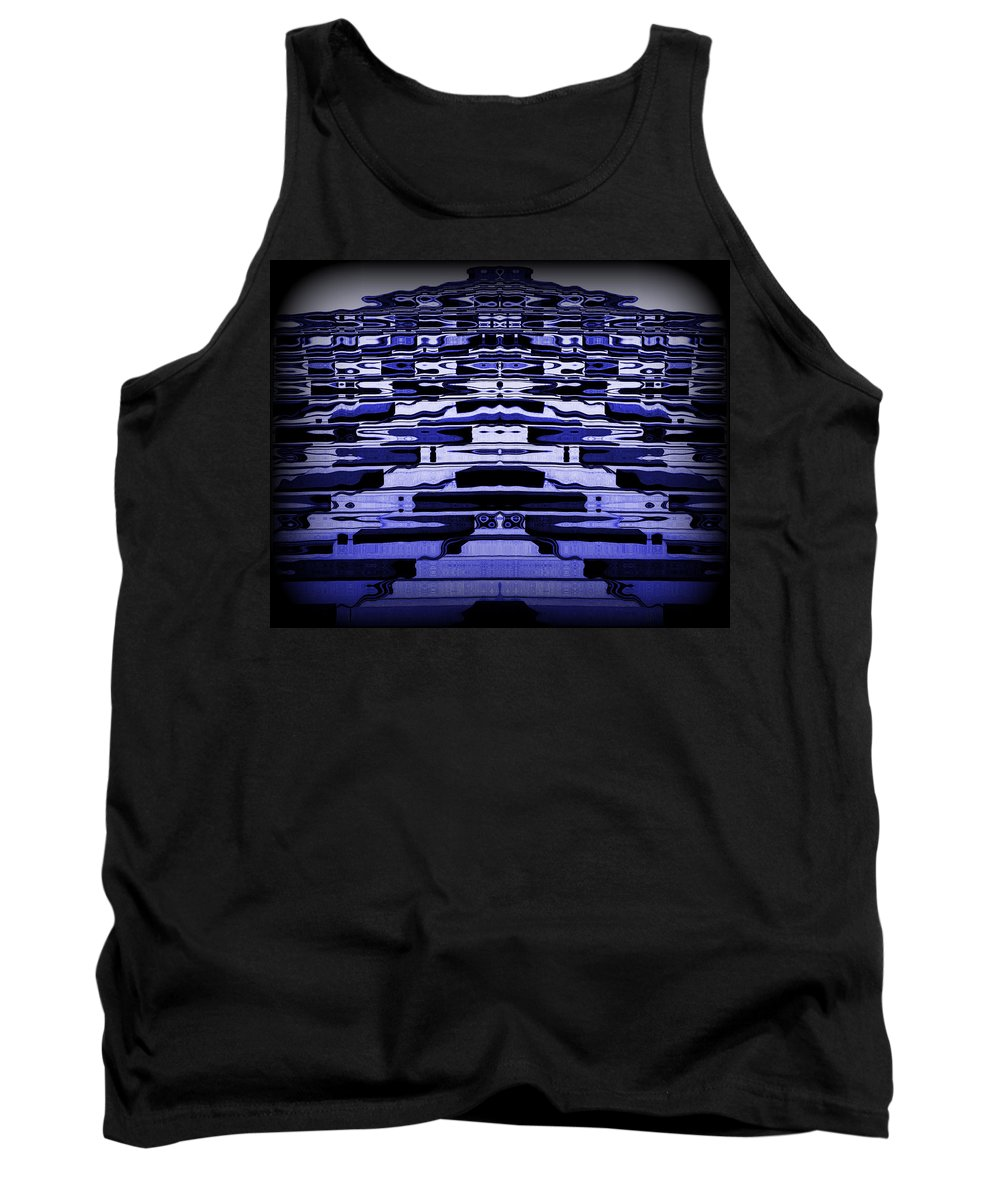 Original Tank Top featuring the photograph Abstract 121 by J D Owen