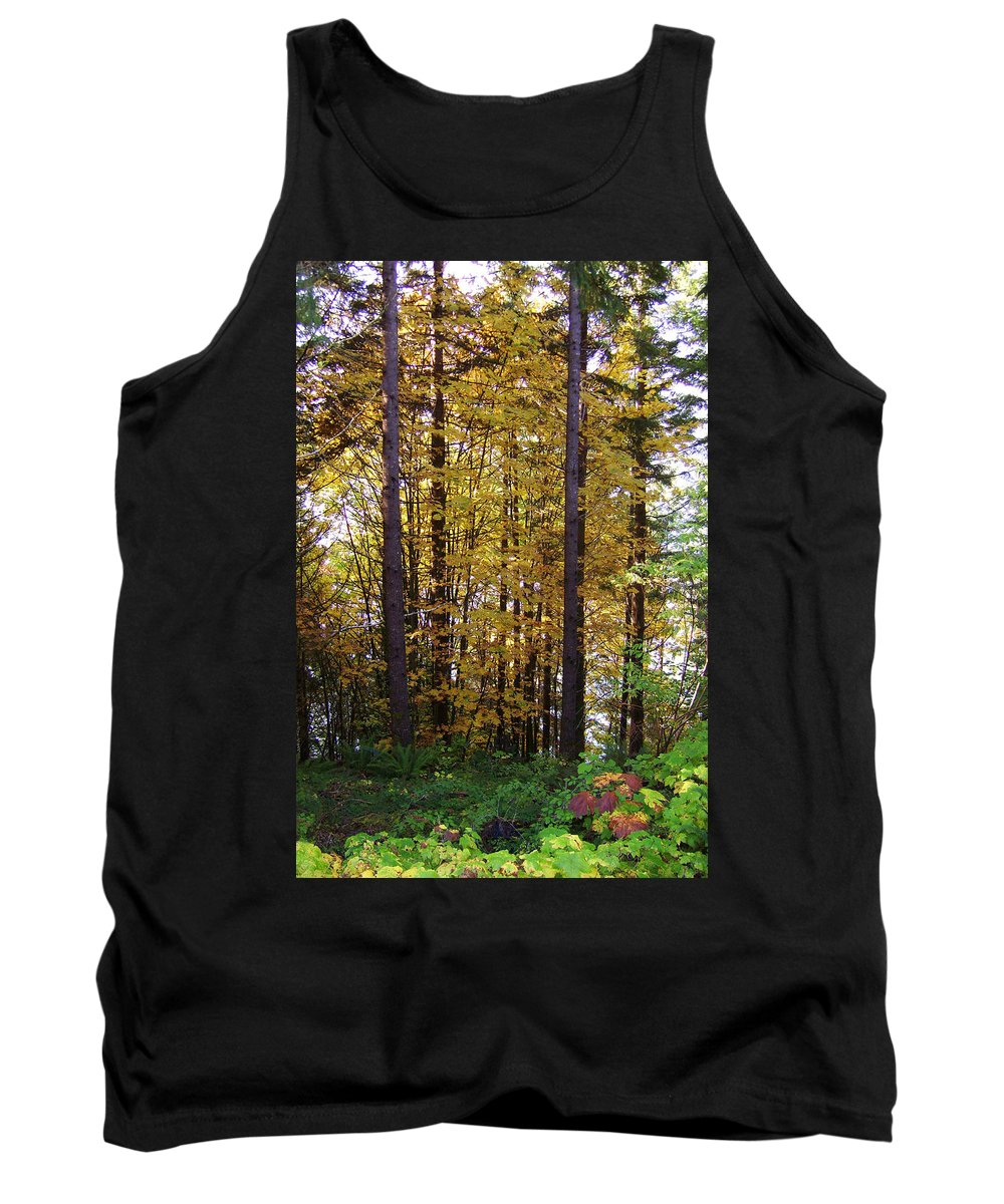 Original Tank Top featuring the photograph Autumn 5 by J D Owen