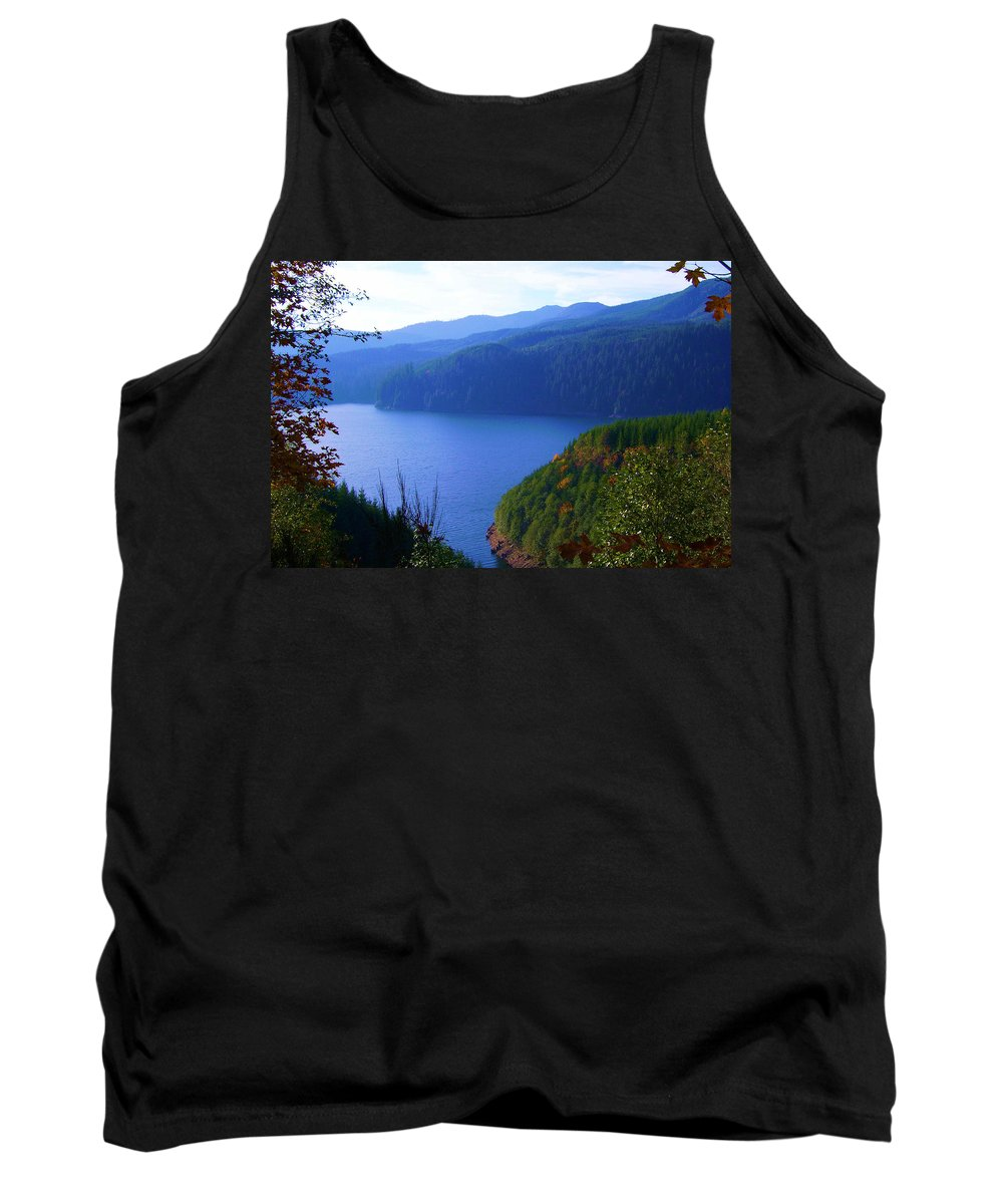 Bloom Tank Top featuring the photograph Lakes 6 by J D Owen