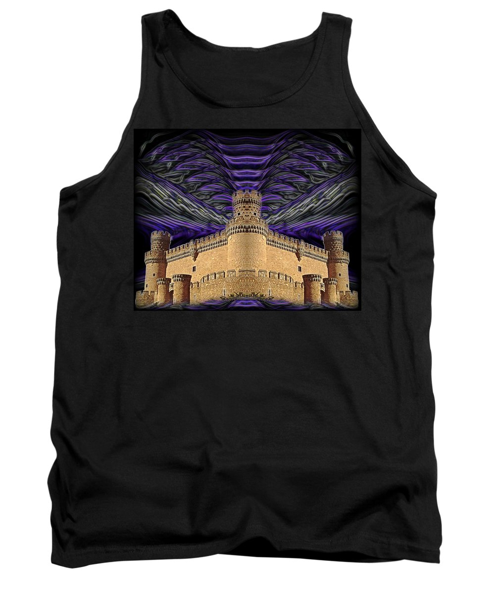 Original Tank Top featuring the photograph Stormy Keep by J D Owen