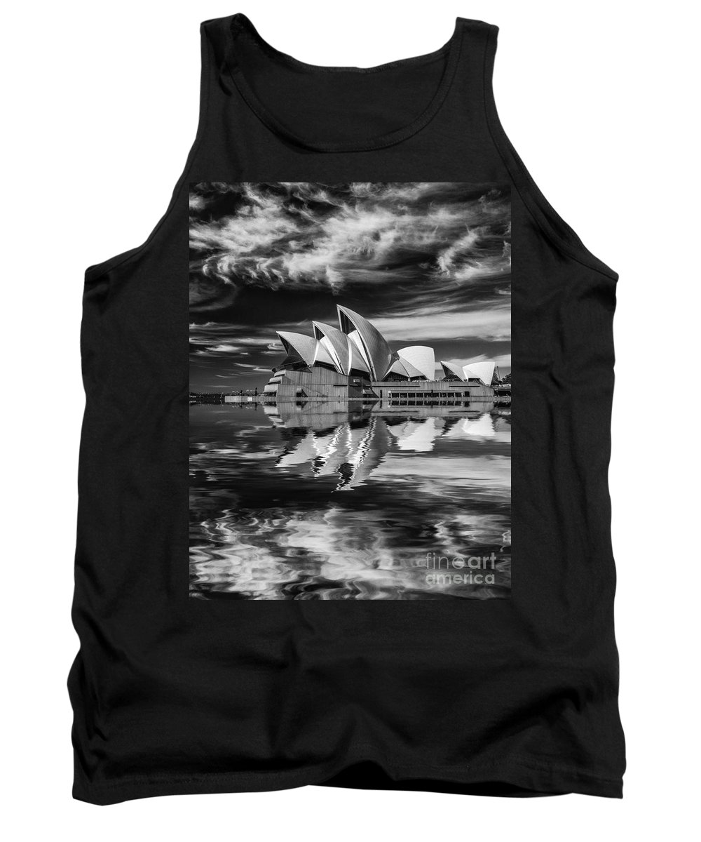 Sydney Opera House Tank Top featuring the photograph Sydney Opera House abstract by Sheila Smart Fine Art Photography