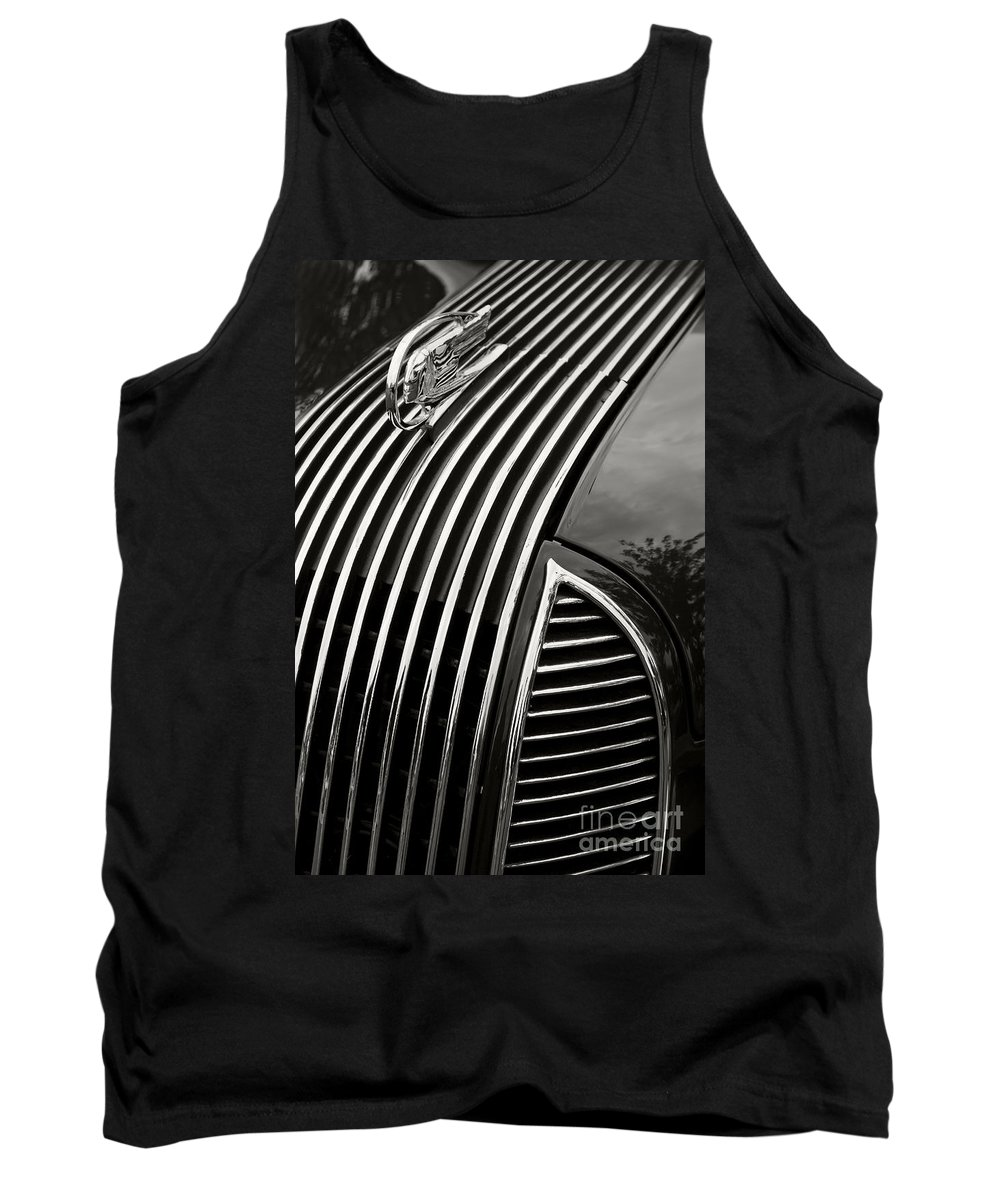 Classic Tank Top featuring the photograph '36 Pontiac by Dennis Hedberg