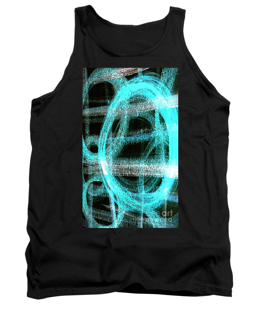 360 Tank Top featuring the painting 360 by Jacqueline McReynolds