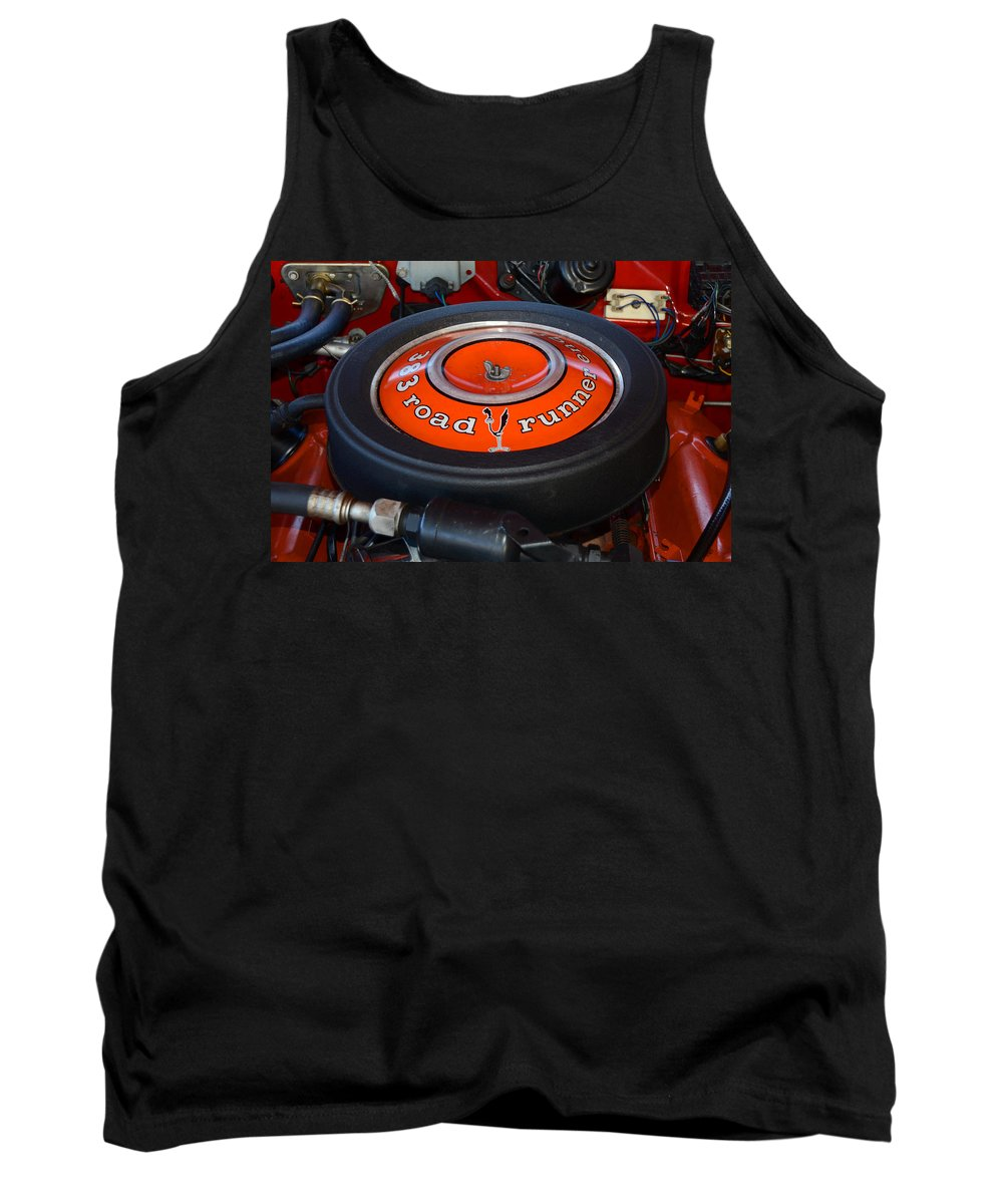 Classic Car Tank Top featuring the photograph 383 Road Runner by David Lee Thompson