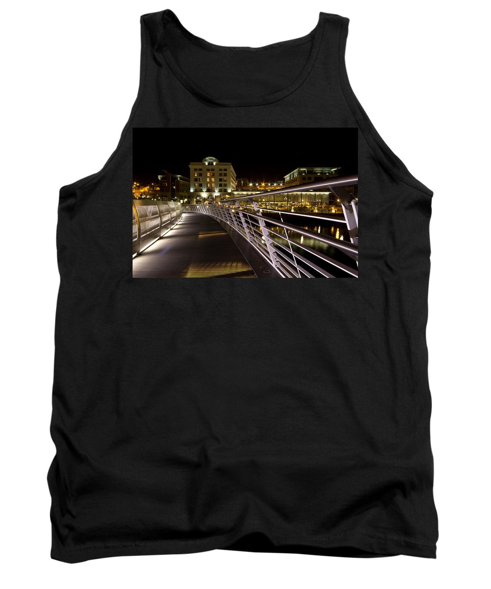 Malmaison Tank Top featuring the photograph Newcastle Quayside by David Pringle
