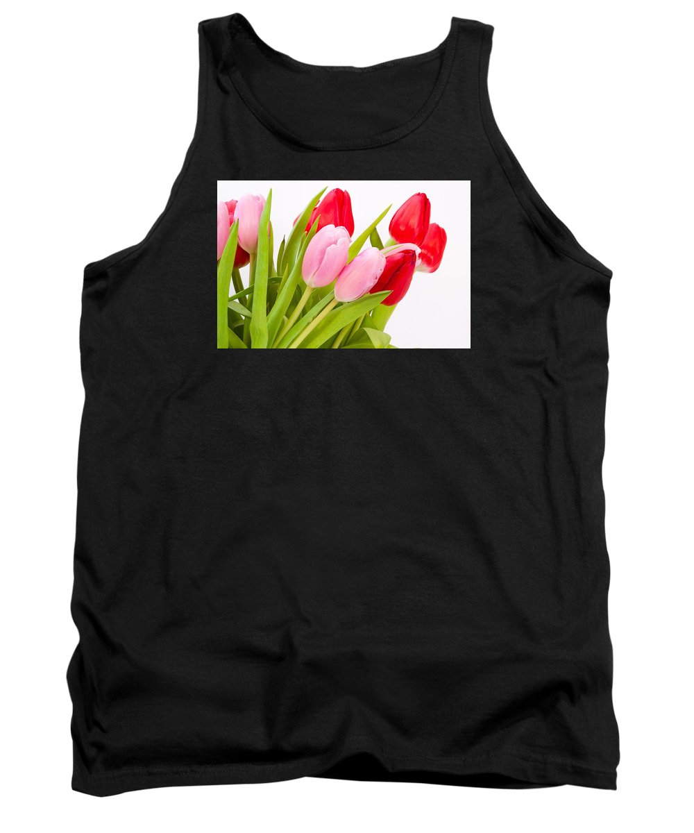 Flower Tank Top featuring the photograph Tulips by FL collection