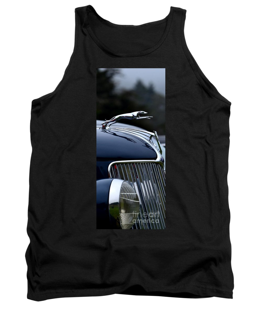 Ford Tank Top featuring the photograph Classic Ford Detail by Dean Ferreira
