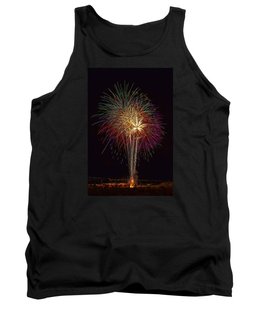 4th Of July Tank Top featuring the photograph 4th July #6 by Diana Powell