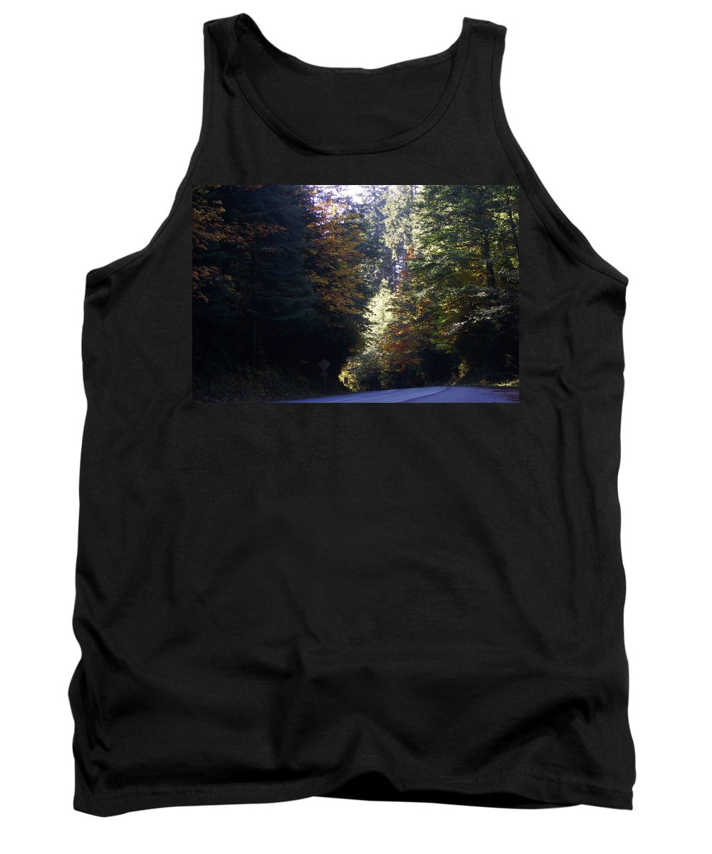 Bloom Tank Top featuring the photograph Autumn 4 by J D Owen
