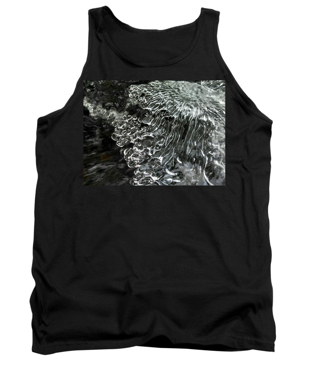 Eagle River Tank Top featuring the photograph Water Imitates Art by Scott Wendt Tom Wierciak