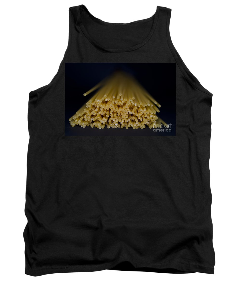 Pasta Tank Top featuring the photograph Spaghetti by Mats Silvan
