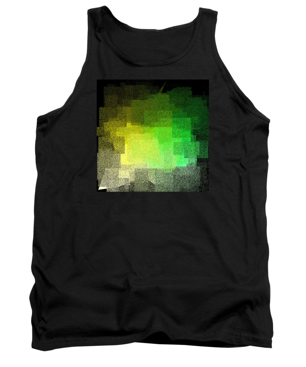 Abstract Tank Top featuring the digital art 5120.5.17 by Gareth Lewis