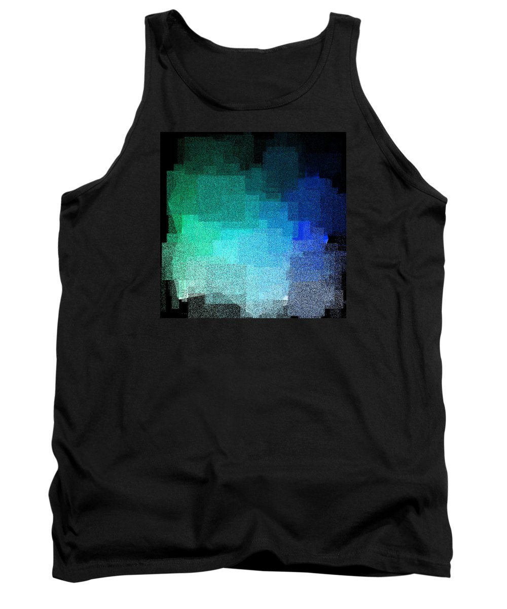 Abstract Tank Top featuring the digital art 5120.5.50 by Gareth Lewis