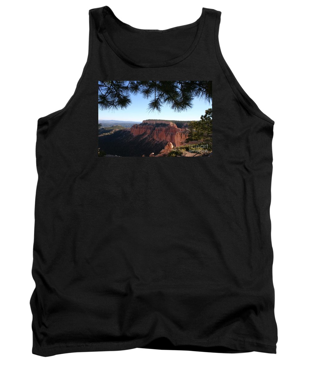 Canyon Tank Top featuring the photograph Bryce Canyon Overlook by Christiane Schulze Art And Photography