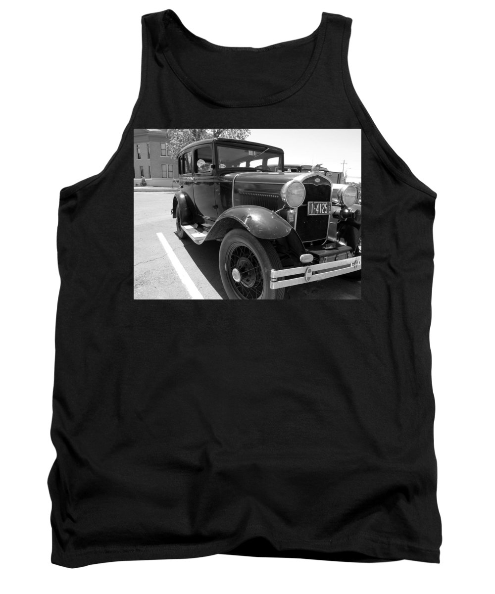 Old Tank Top featuring the photograph 6366 by Onyx Armstrong
