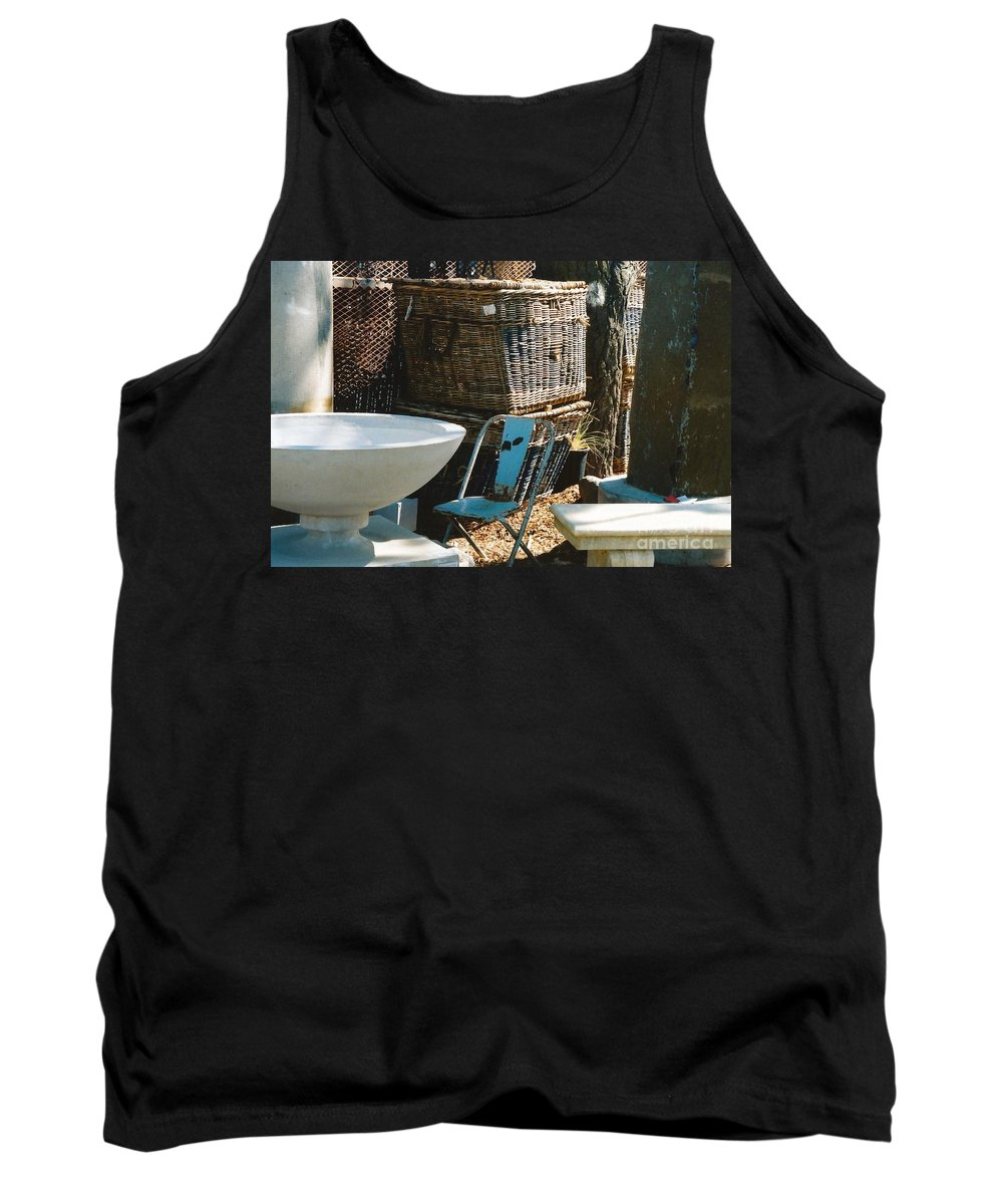 Architecture Tank Top featuring the photograph Among The Ruins 9 by Dennis Knasel