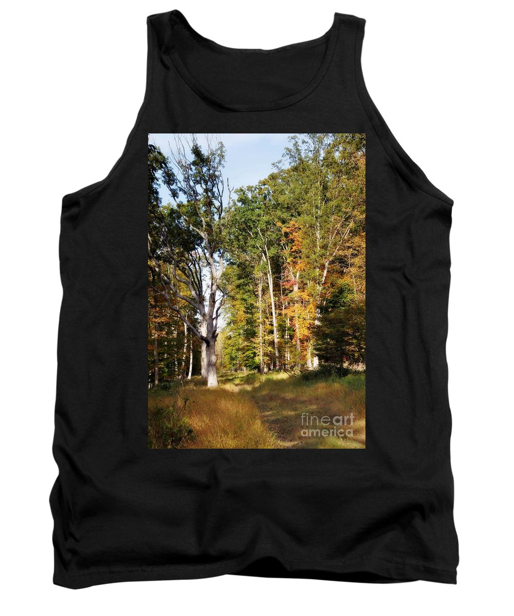 Tank Top featuring the photograph Autumn 2013 by Chet B Simpson