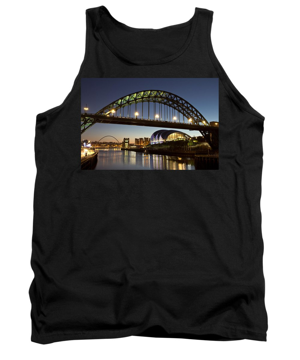 Tyne Bridge Tank Top featuring the photograph Tyne Bridge by David Pringle
