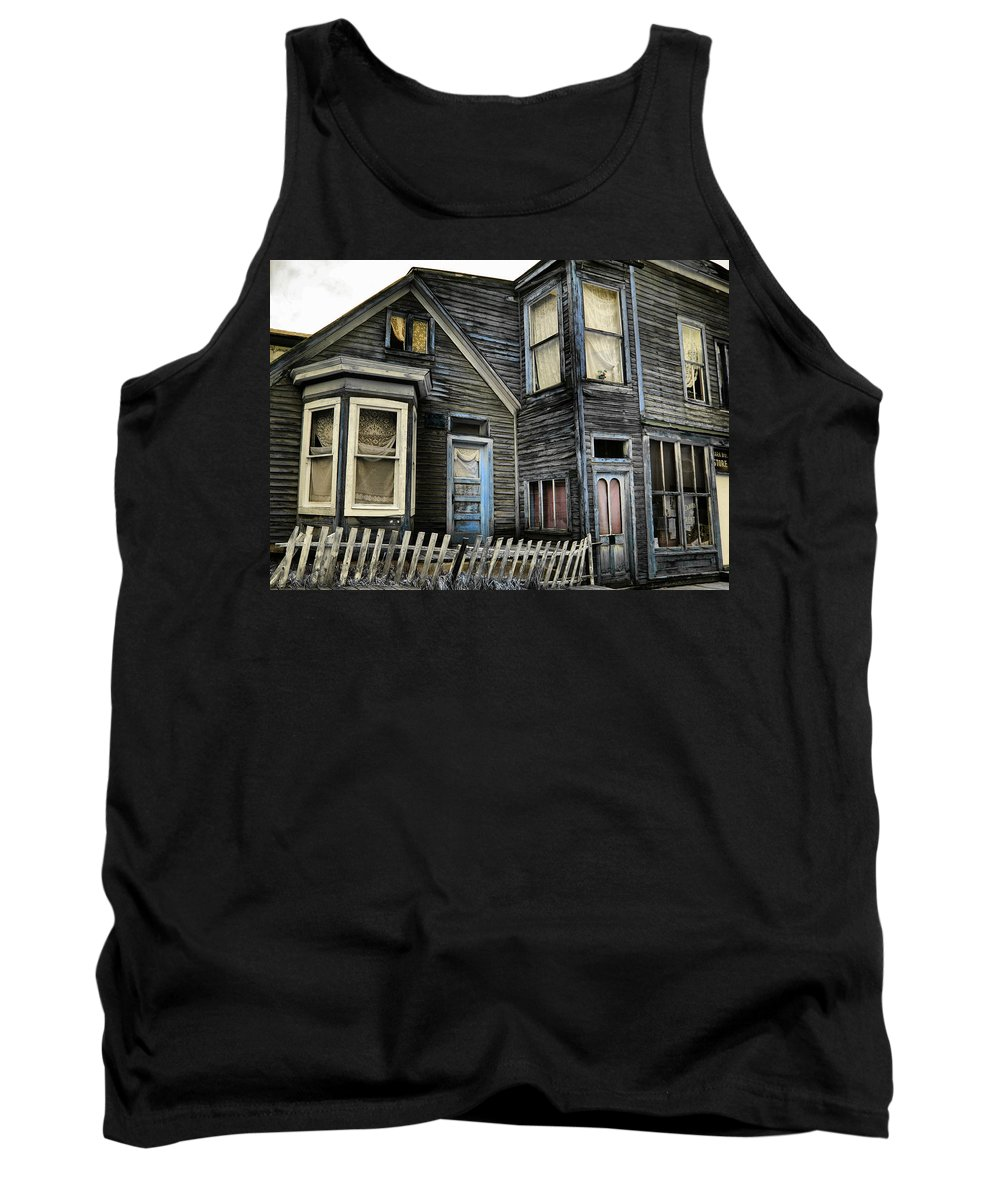 House Tank Top featuring the photograph A Bygone Era by Ellen Heaverlo