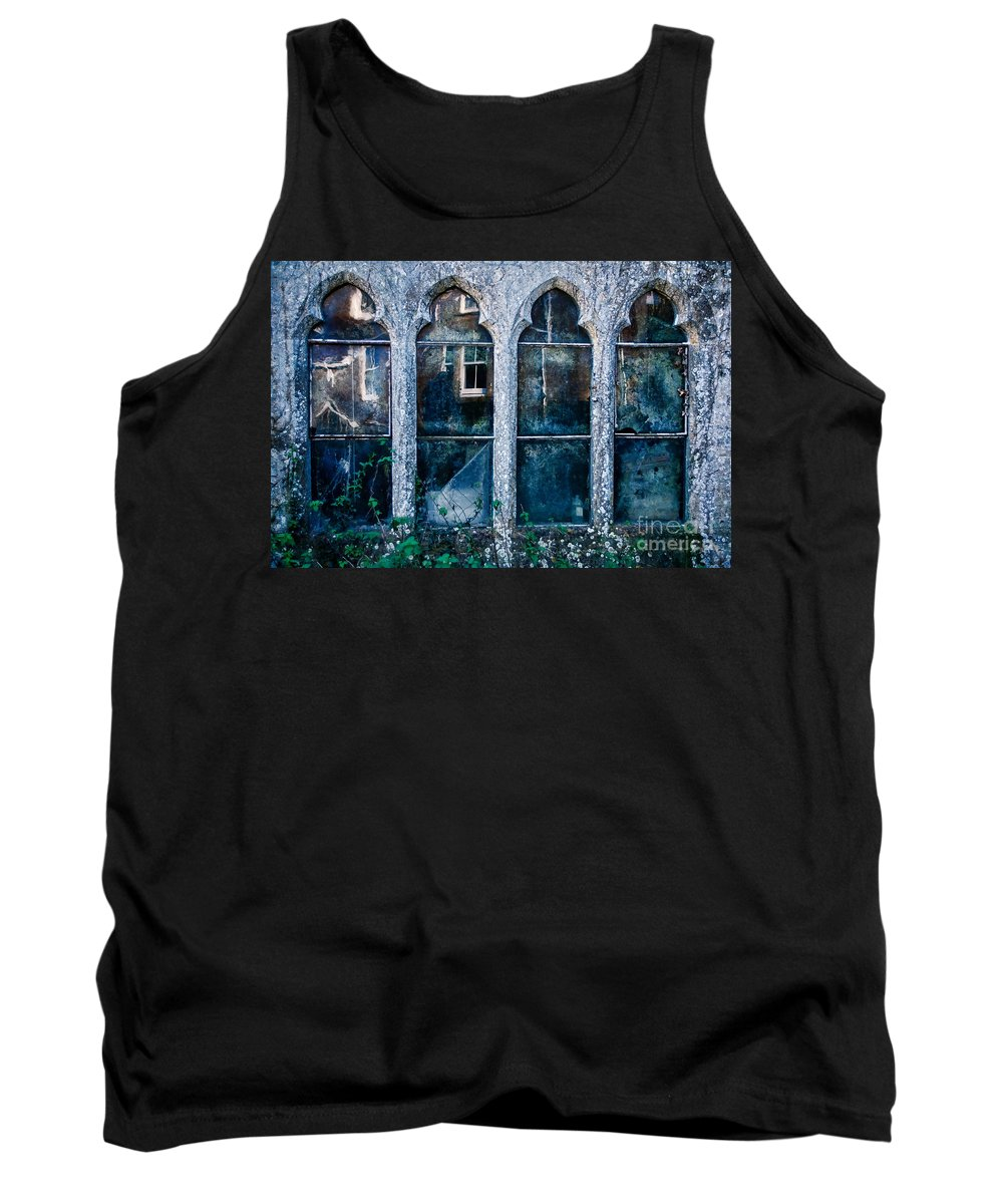 Powerstock Tank Top featuring the photograph A Face At The Window by Susie Peek