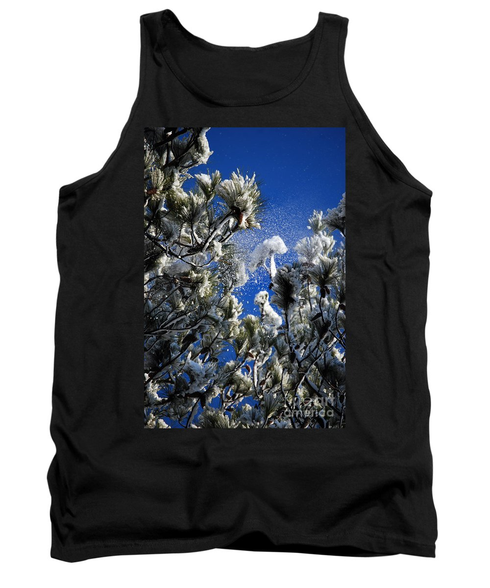 Scenic Tours Tank Top featuring the photograph A Puff Of Wind by Skip Willits