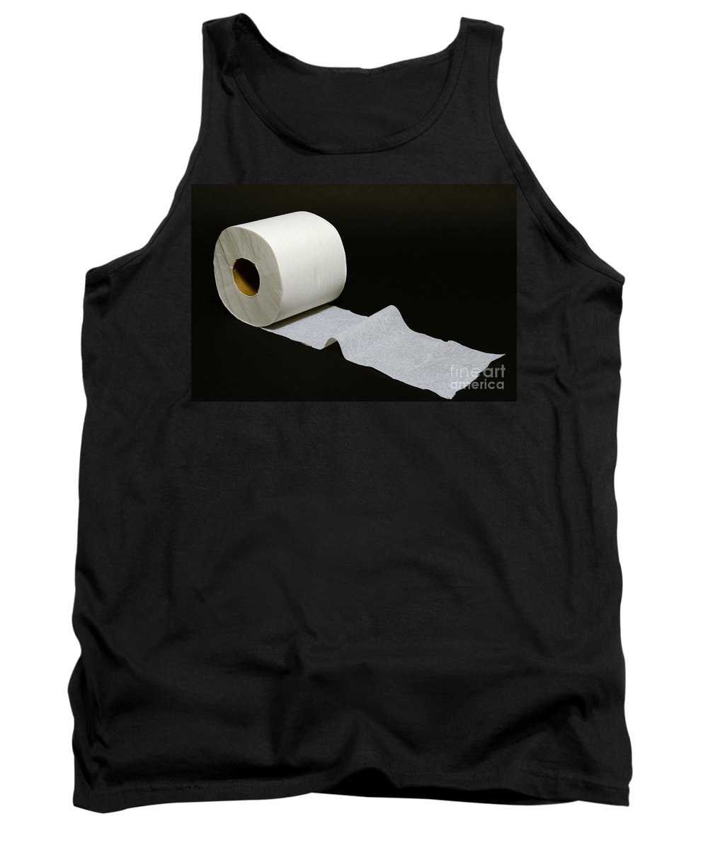 Paul Ward Tank Top featuring the photograph A Roll Of Toilet Paper by Paul Ward