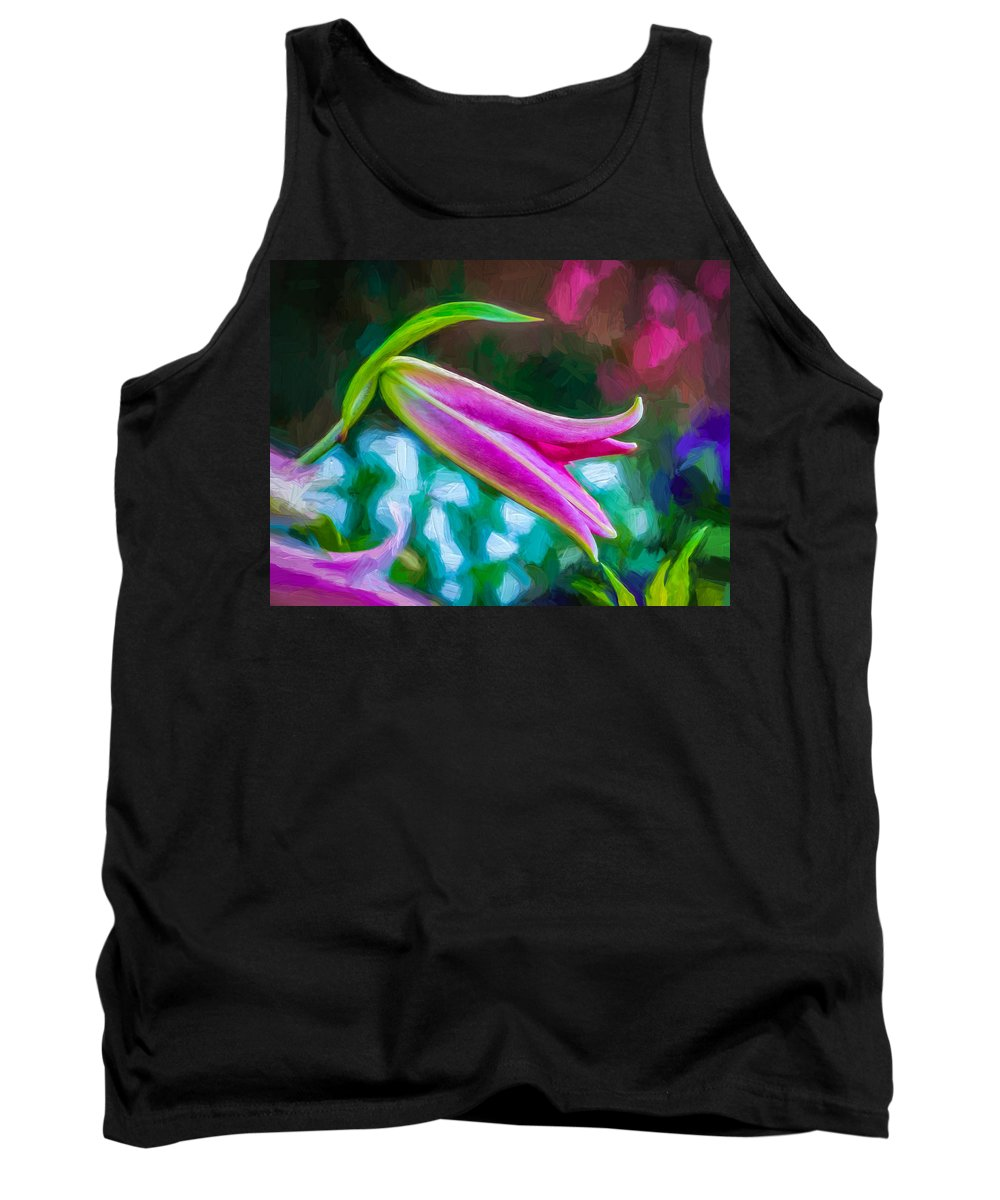 Bolton Tank Top featuring the photograph A Touch Of Class 2 - Impasto by Steve Harrington